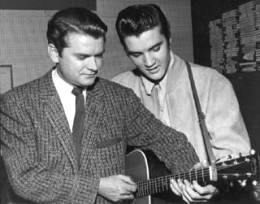 Sam Phillips y Elvis Presley